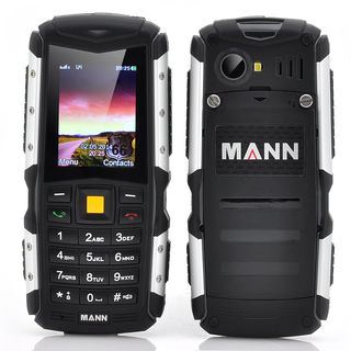 MANN ZUG S Rugged Phone - 2 Inch  Display, IP67 Waterproof + Dust Proof Rating, Shockproof, 2570mAh