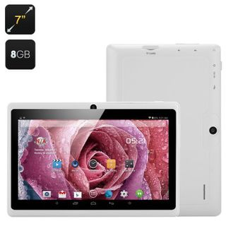 7 Inch Android Tablet 'Orion' - Android 4.4, Quad Core Allwinner A33 CPU, Mali 400 GPU, Bluetooth, W