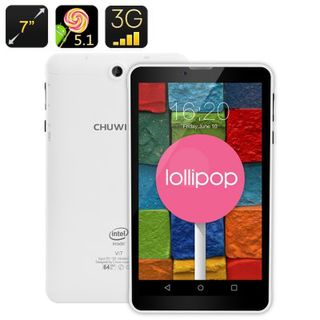 Chuwi Vi7 Android Phablet - 3G SIM Slot, 7 Inch IPS Screen, Android 5.1, GPS, Quad Core CPU, 2500mAh