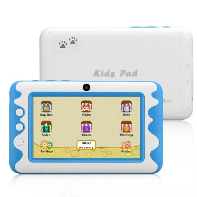 K4 Kids Tablet PC - 4.3 Inch, Android 4.2, Dual Core Cortex A9