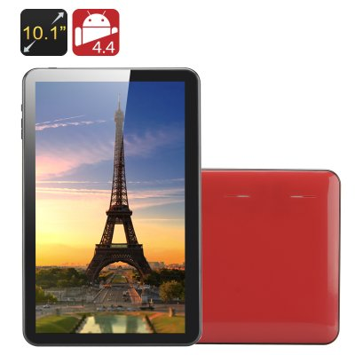 10.1 Inch Quad Core Tablet PC 'Kappa' - All Winner A33 CPU, Mali 400 GPU, 1GB RAM, 8GB Memory, OTG (